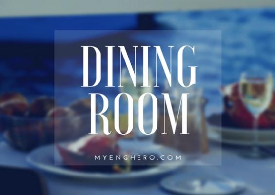 ห้องรับประทาน (Dining room)