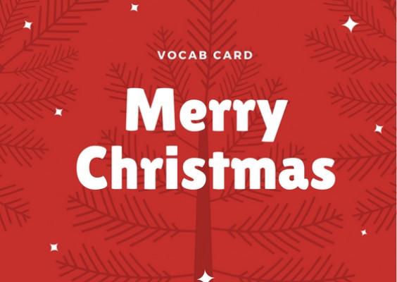 ชุดคำศัพท์ วันคริสต์มาส (Merry Christmas)   Eng Hero เรียนภาษาอังกฤษ ออนไลน์ ฟรี